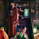 """Shin Hye Sun And Kim Jung Hyun's Historical Fusion Drama """"Mr. Queen"""" Reveals Group Poster"""