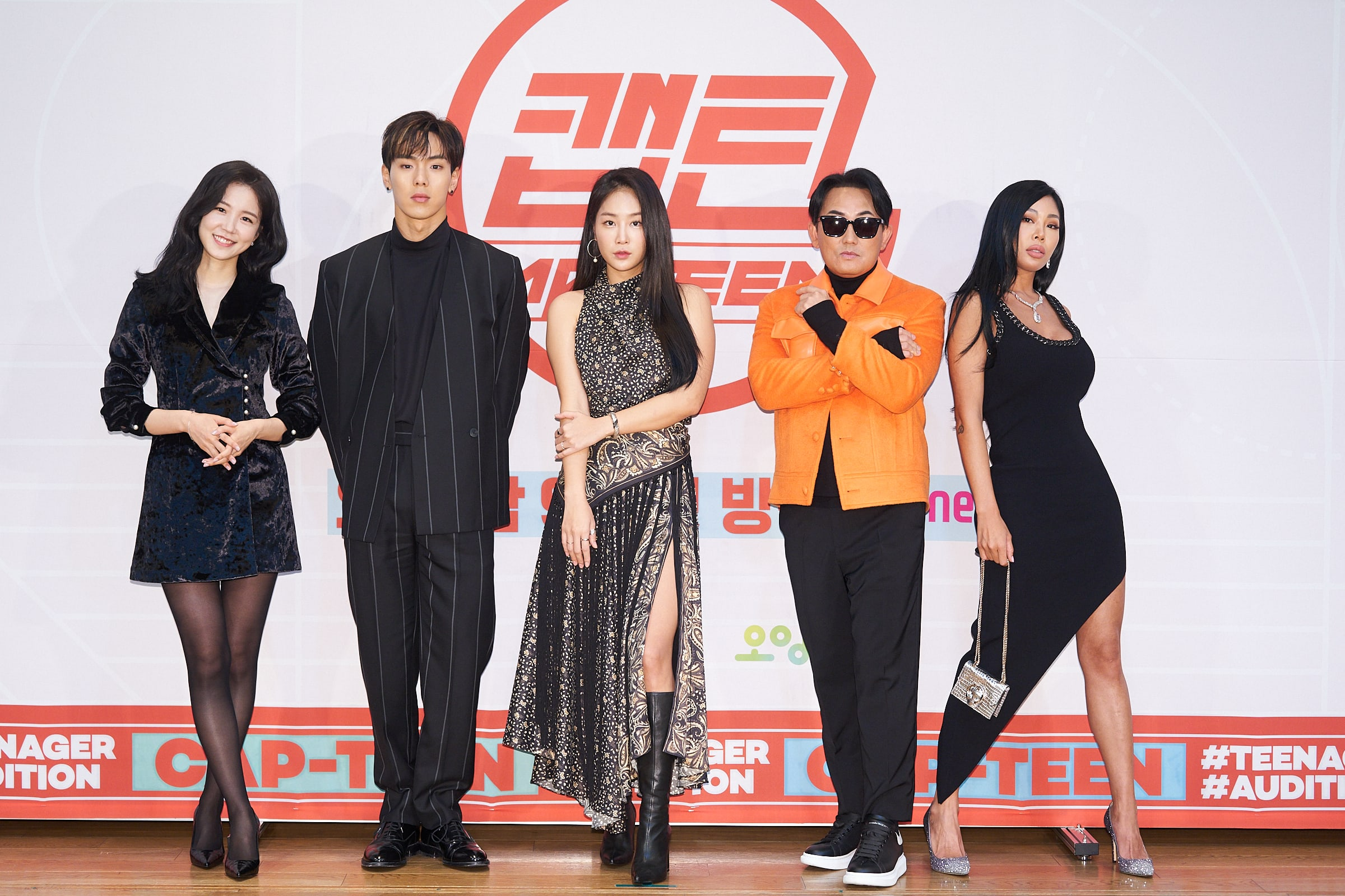 """CAP-TEEN"": Soyou, Shownu, Jessi and Lee Seung Chul discuss judging on Mnet's new show"