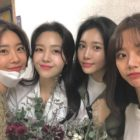 Girl's Day Reunites To Show Support For Minah At Her Musical Debut