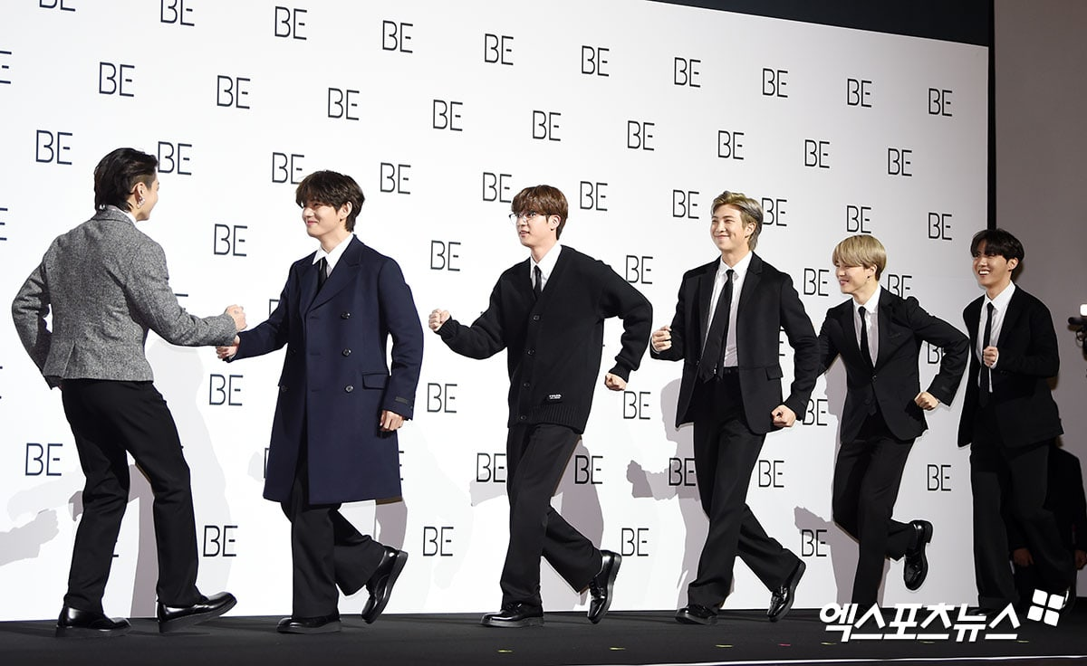 "BTS talks about the new self-directed album ""BE"""