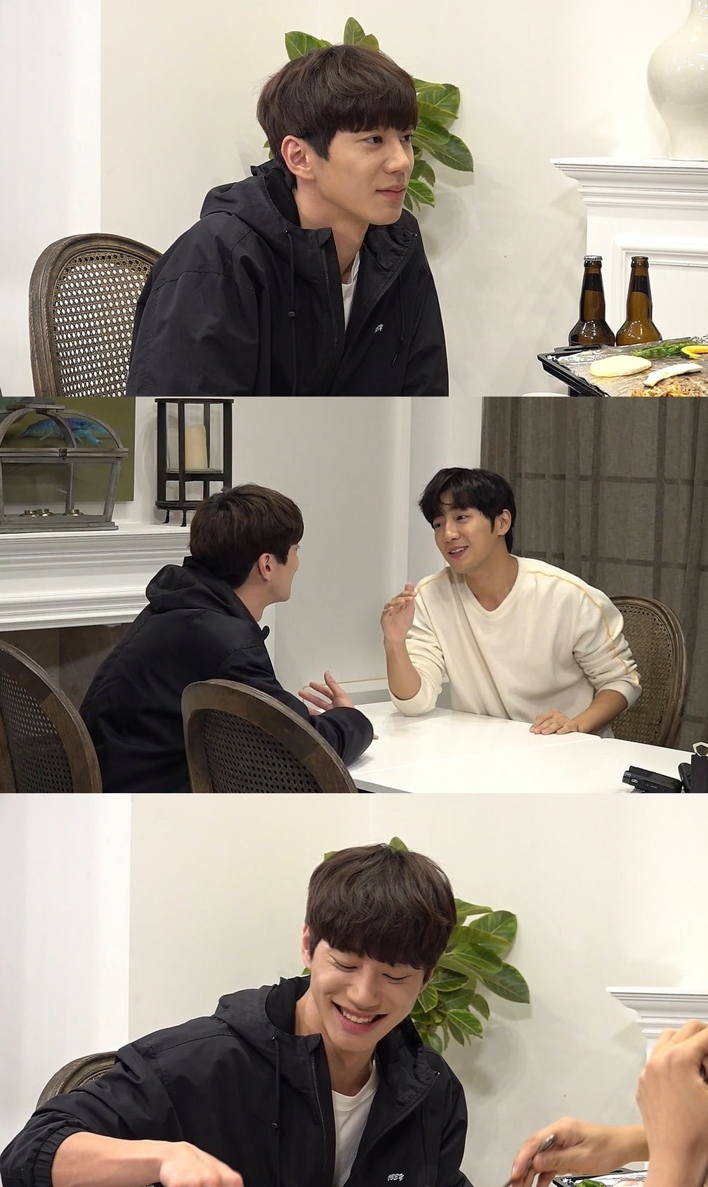 """""""The manager"""": Lee Jun Young, Lee Sang Yeob, and Yoo In Young share a meal and show close friendship"""