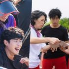 """Jo Byeong Gyu, Kim Sejeong, And More Aren't Afraid To Sweat Behind The Scenes Of """"The Uncanny Counter"""""""