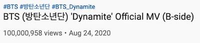 bts dynamite b side