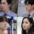 """Kairos"" Shares Peek At Tense Encounters Between Shin Sung Rok, Lee Se Young, Ahn Bo Hyun, And Nam Gyu Ri"