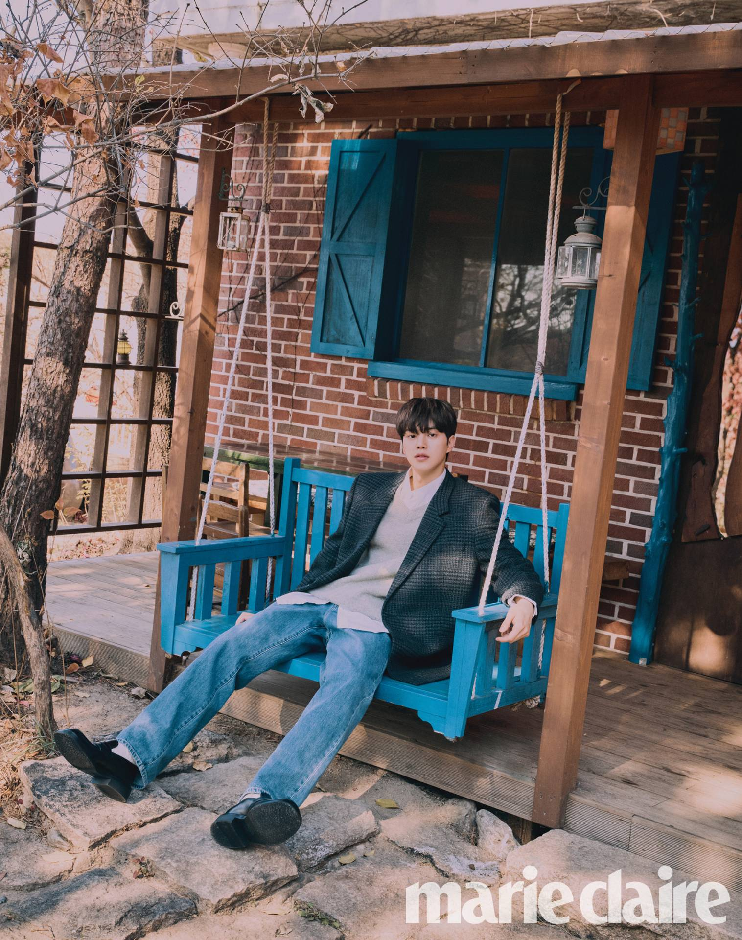 Song Kang talks about filming Sweet Home