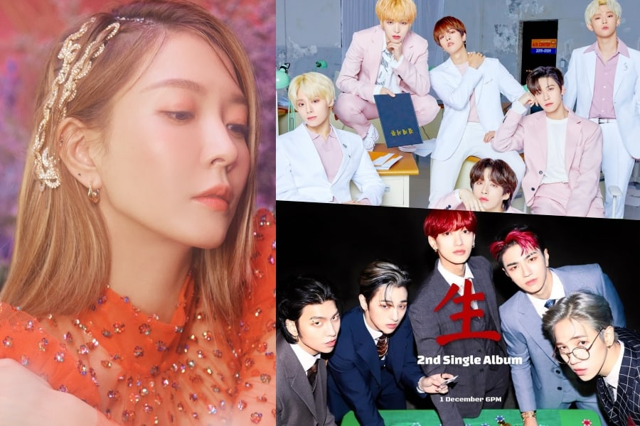 K-pop comebacks and new releases in December