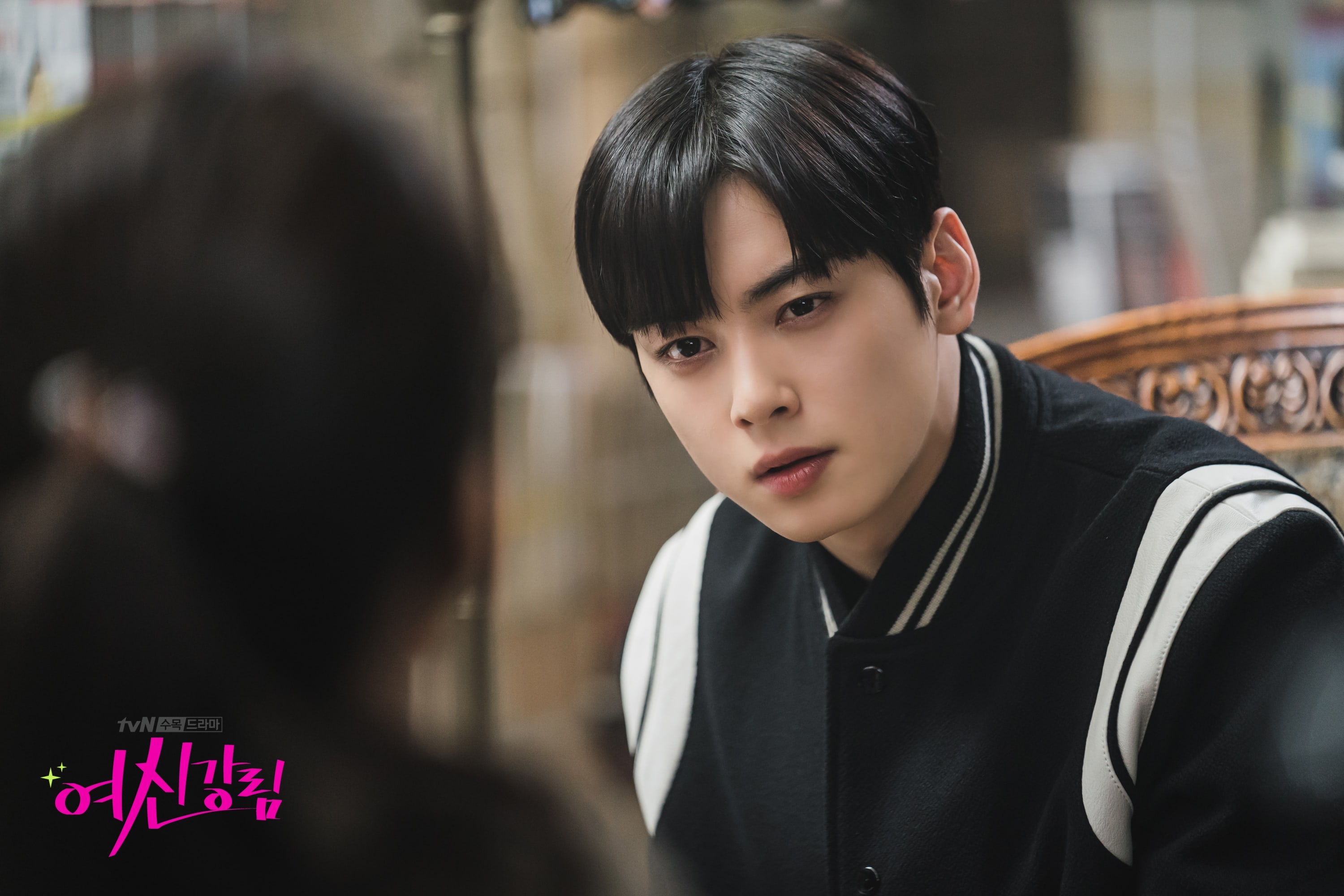 """""""True Beauty"""": Cha Eun Woo and Moon Ga Young have a private conversation"""