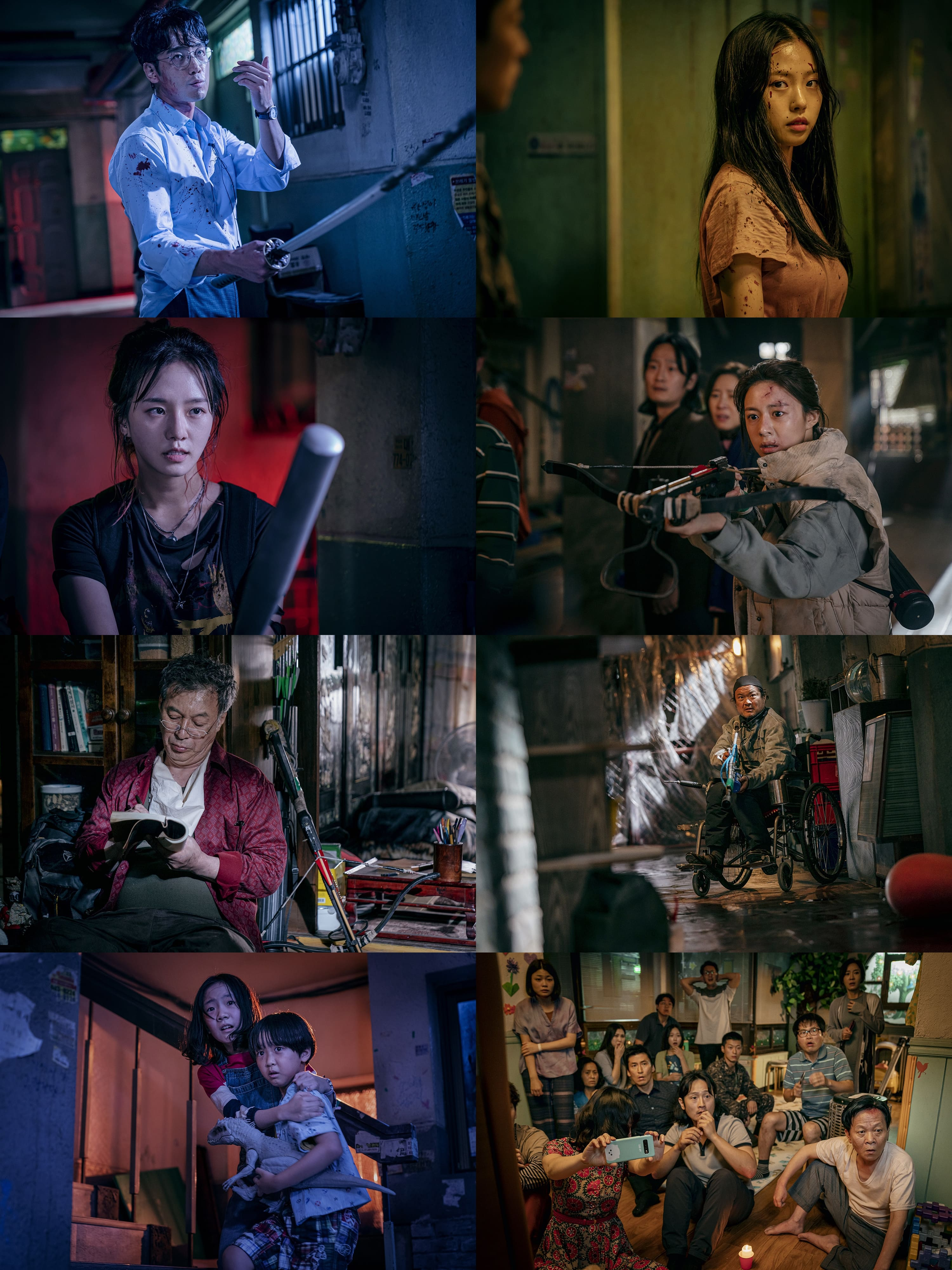 """Sweet Home"": Song Kang, Lee Si Young and Lee Do Hyun fight for survival"