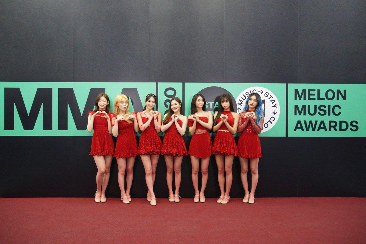 oh my girl melon music awards 2020