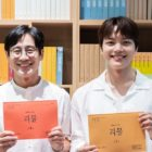 Yeo Jin Goo And Shin Ha Kyun Match Wits At Script Reading For Upcoming Psychological Thriller Drama