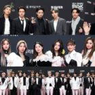 Stars Shine On The Red Carpet At 2020 Mnet Asian Music Awards