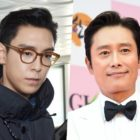 BIGBANG's T.O.P Shows Love For Lee Byung Hun + Thanks Him For Gift