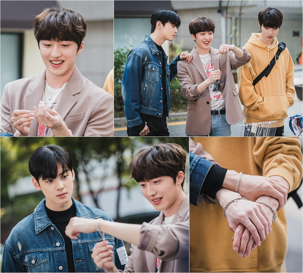 "Chani from SF9 is the best friend of Cha Eun Woo and Hwang in ""True Beauty"""