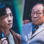 "Shin Sung Rok Doesn't Back Down From A Suspenseful Confrontation With Shin Goo In ""Kairos"""