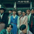 """Watch: Kim Heechul And Min Kyung Hoon Combine Tradition With Hip Hop In """"Hanryang"""" MV Featuring ATEEZ, BIBI, And DinDin"""