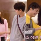 """Watch: Girls' Generation's Sooyoung And Kang Tae Oh Joke Around Behind The Scenes Of """"Run On"""""""