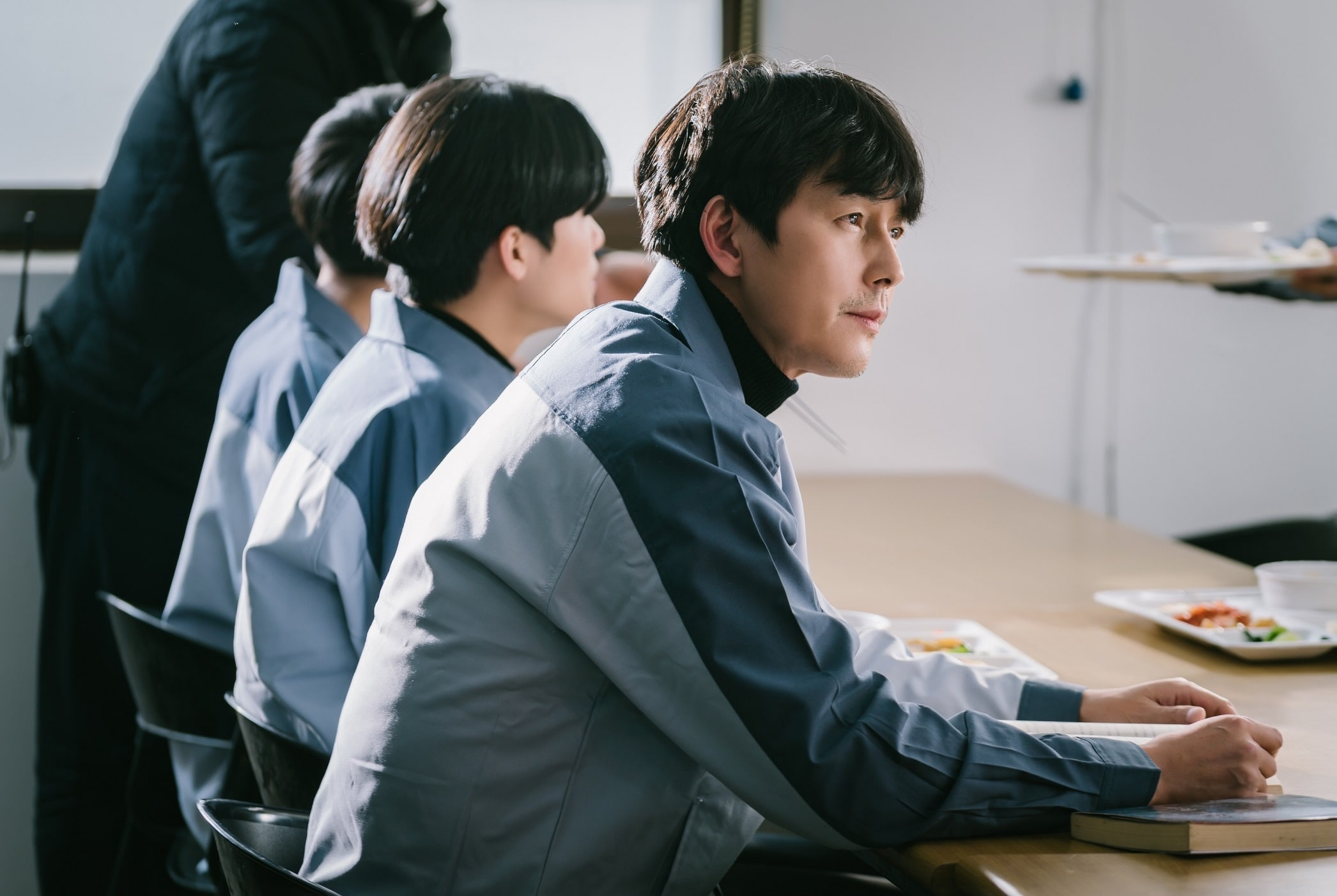 """Jung Woo Sung and the director discuss him in the cast of """"Delayed Justice"""""""