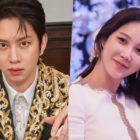 "Kim Heechul Reacts To Lee Ji Ah Sending Him Major Spoiler For ""The Penthouse"" Before He's Caught Up"