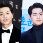 "Song Joong Ki Sends Support To Jo Byeong Gyu On Set Of ""The Uncanny Counter"""