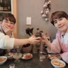 DinDin Shows Off Friendship With Super Junior's Kyuhyun In Adorable Photos