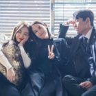 "Jo Yeo Jeong, Go Joon, And Yeonwoo Get Playful Behind The Scenes Of ""Cheat On Me If You Can"""