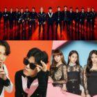 NCT, Rain & Park Jin Young, BLACKPINK, And More Top Gaon Weekly Charts