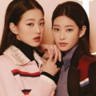 IZ*ONE's Jang Won Young And Kim Min Ju Talk About Personal Growth, Relationship With Members, And More