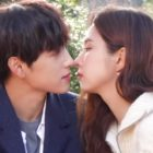 "Watch: Im Siwan And Shin Se Kyung Perfect Their Kiss Scene Behind The Scenes Of ""Run On"""