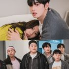 """ASTRO's Cha Eun Woo And Moon Ga Young Attempt To Hide From Their Friends In """"True Beauty"""""""