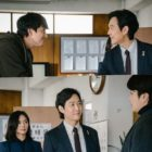 "Lee Jung Jae And Lee Elijah Meet Kwon Sang Woo And Jung Woo Sung In ""Delayed Justice"" As Their Characters In ""Chief Of Staff"""