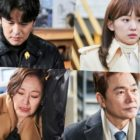 "Lee Jang Woo, Jin Ki Joo, Jung Bo Suk, And Jin Kyung Are Swamped With Overwhelming Emotions In ""Homemade Love Story"""