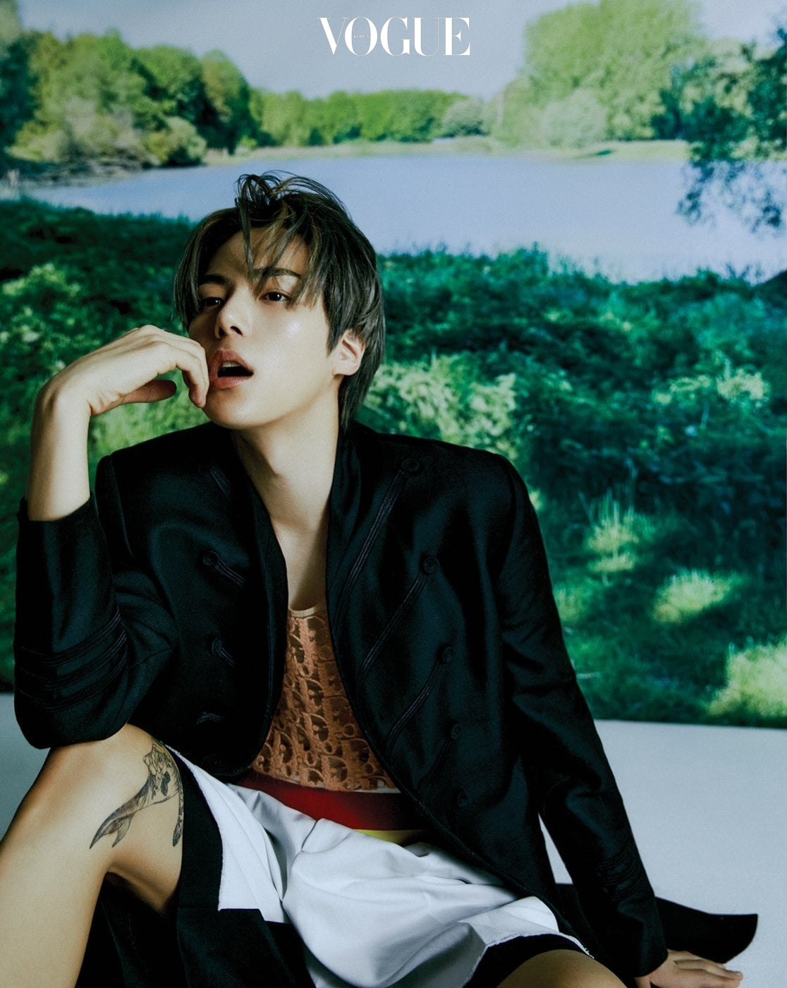 MONSTA X Minhyuk and IM participated in an interview and photo shoot for Vogue!