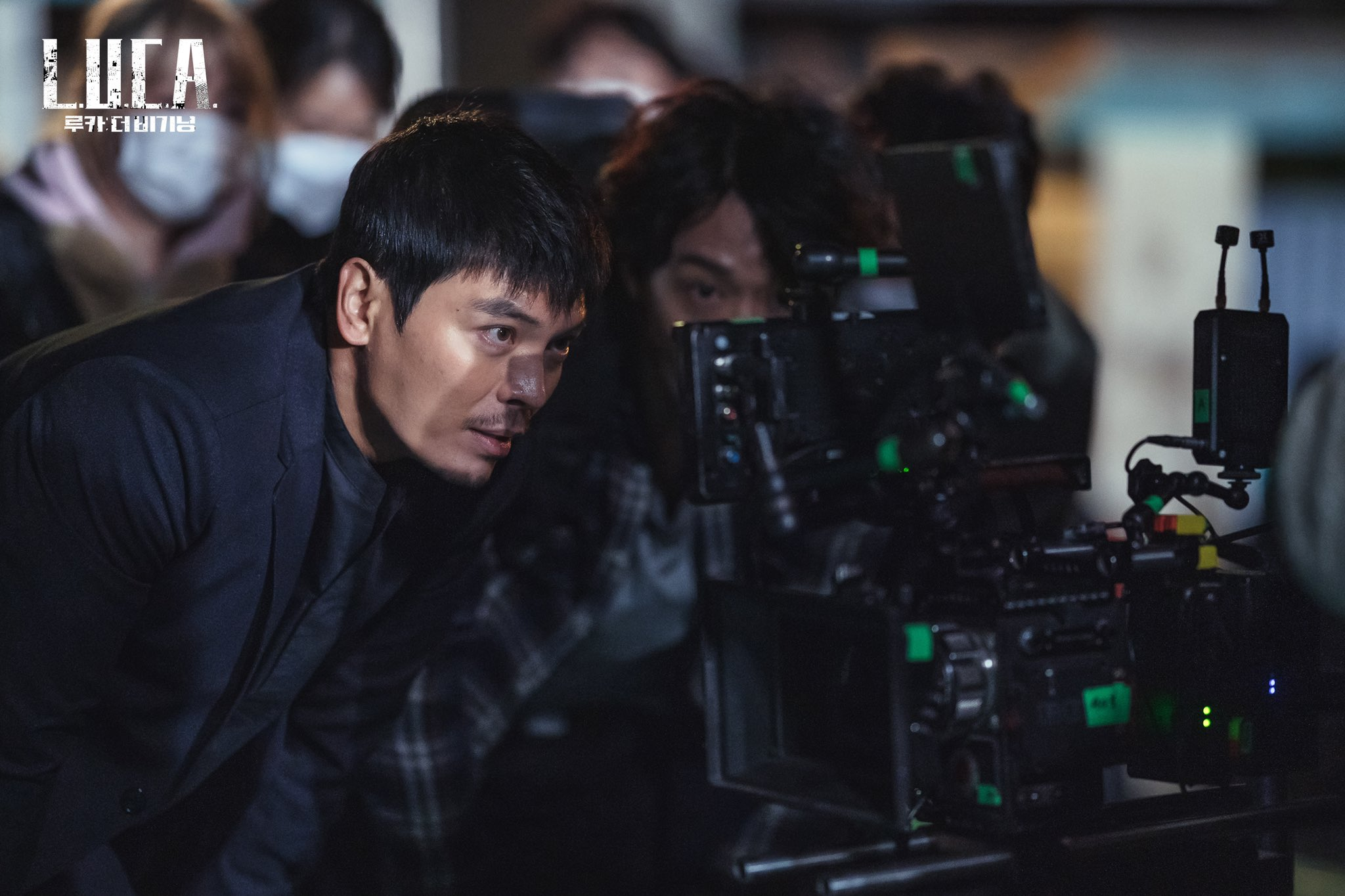 """""""LUCA: The Beginning"""": Lee Da Hee, Kim Rae Won and Kim Sung Oh make a passionate effort"""