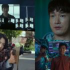 "Watch: Cho Seung Woo And Park Shin Hye Find Themselves In A World Of Mayhem In ""Sisyphus: The Myth"""