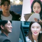"""SF9's Rowoon, Won Jin Ah, And More Glow With Positive Energy On Set Of """"She Would Never Know"""""""