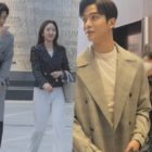 "Watch: SF9's Rowoon And Won Jin Ah Enjoy Teasing Each Other Behind The Scenes Of ""She Would Never Know"""