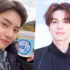 """UP10TION's Lee Jin Hyuk Thanks Lee Dong Wook For Sending Support To Set Of """"Dear.M"""""""