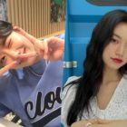 APRIL's Naeun Thanks Weki Meki's Kim Doyeon For Sending Support For Her New Drama