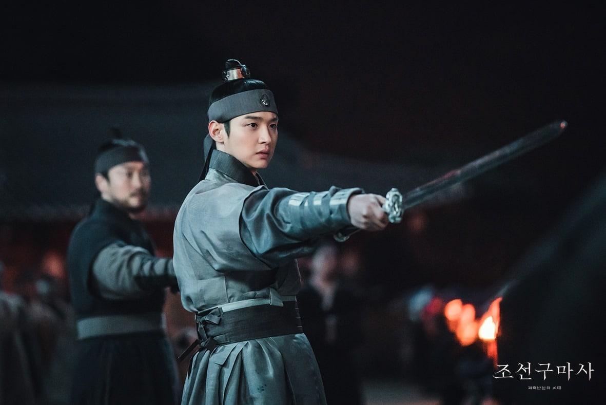 Jang Dong Yoon di drama Joseon Exorcist