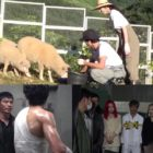 "Watch: Kim Rae Won, Lee Da Hee, And Kim Sung Oh Handle Technical Errors And Cute Sheep Co-Stars On ""L.U.C.A.: The Beginning"""