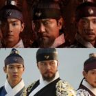 """Watch: Jang Dong Yoon, Kam Woo Sung, And Park Sung Hoon Pose As Charismatic Leaders In New Poster For """"Joseon Exorcist"""""""
