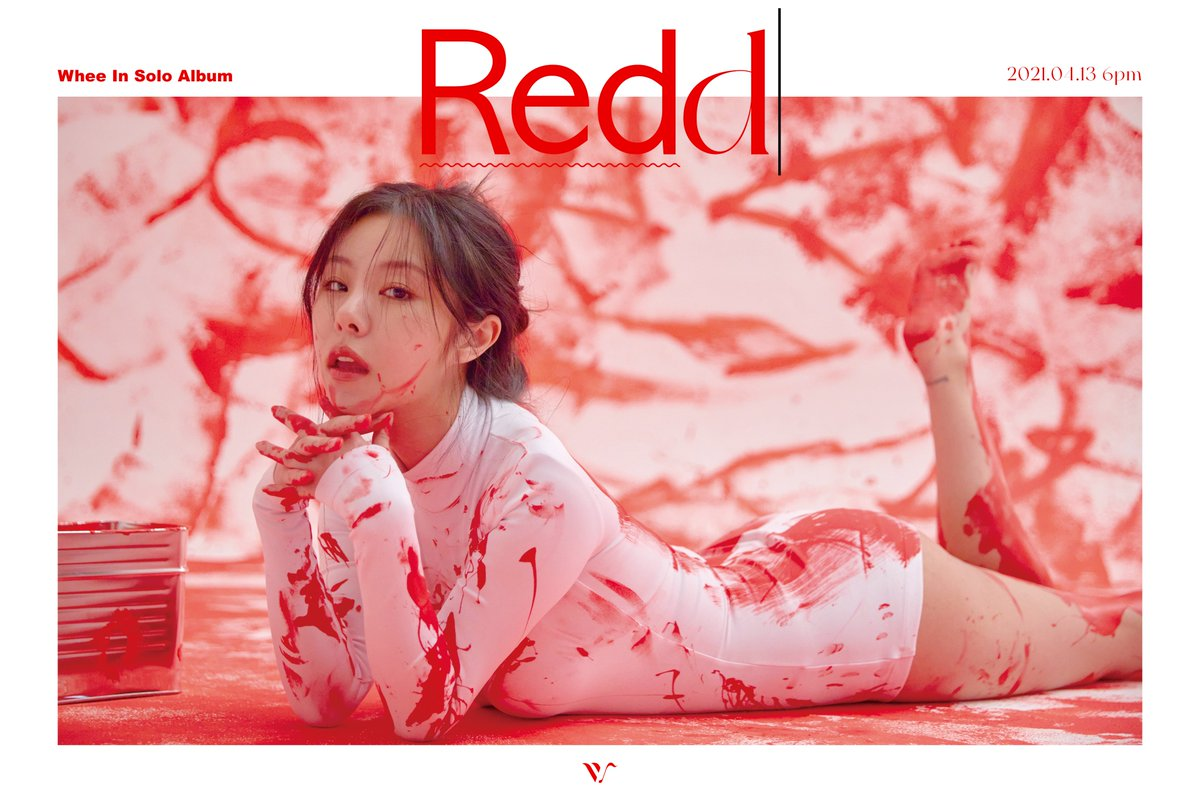 """Update: MAMAMOO's Wheein Previews Concept For Solo Album """"Redd"""" In New  Teasers 
