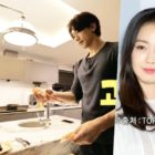 Watch: Rain Reveals His And Kim Tae Hee's Kitchen As He Cooks For His Family At Home