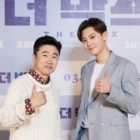 """EXO's Chanyeol And Jo Dal Hwan Share What They Learned While Filming """"The Box"""" + Chanyeol Says Goodbye Ahead Of Enlistment"""