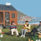 "Sung Dong Il, Im Siwan, And Kim Hee Won Relax By The Ocean In Poster For ""House On Wheels"" Season 2"