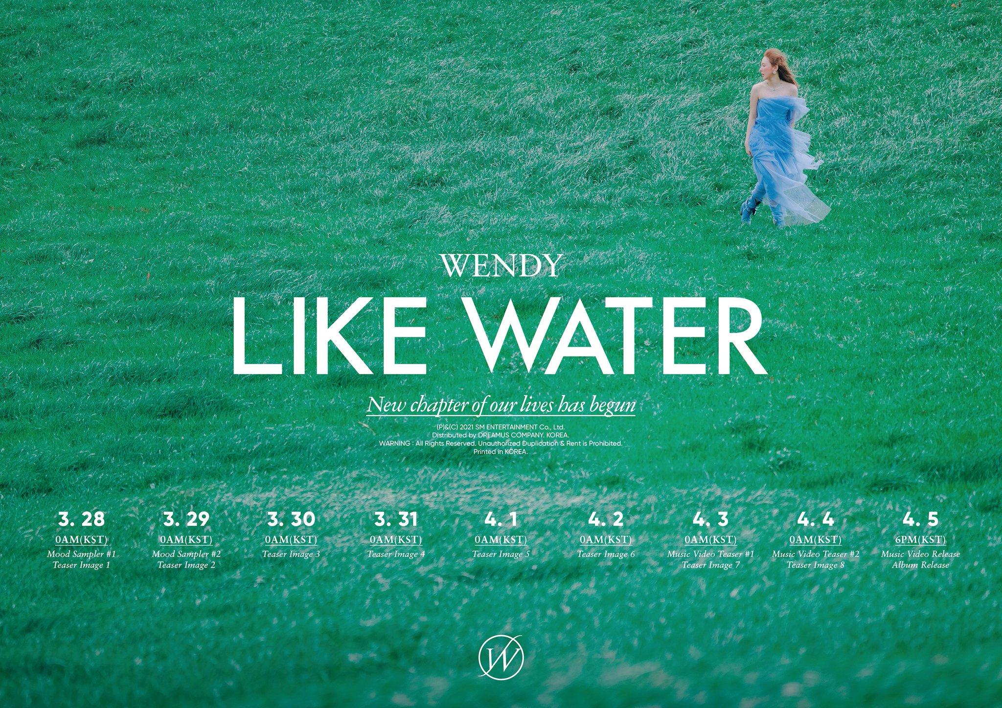 Wendy Teaser Schedule