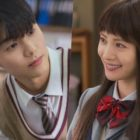 "Nana And CNBLUE's Kang Min Hyuk Show Their Characters' First Meeting As Students In ""Oh My Ladylord"""