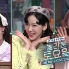 "Watch: Oh My Girl's Jiho And Hyojung Fangirl Over Girls' Generation's Taeyeon In ""Amazing Saturday"" Preview"
