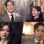 "Watch: CNBLUE's Jung Yong Hwa And Jang Nara Get Playful In Between Charismatic Scenes On Set Of ""Sell Your Haunted House"""