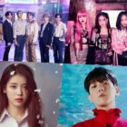 BTS, BLACKPINK, IU, EXO's Baekhyun, And More Rank High On Billboard's World Albums Chart